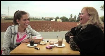 María León y Carmina Barrios en Carmina o revienta. (Paco León, 2012)