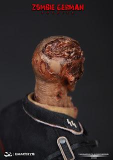 Damtoy 1/6 Scale Zombie German Soldier figure