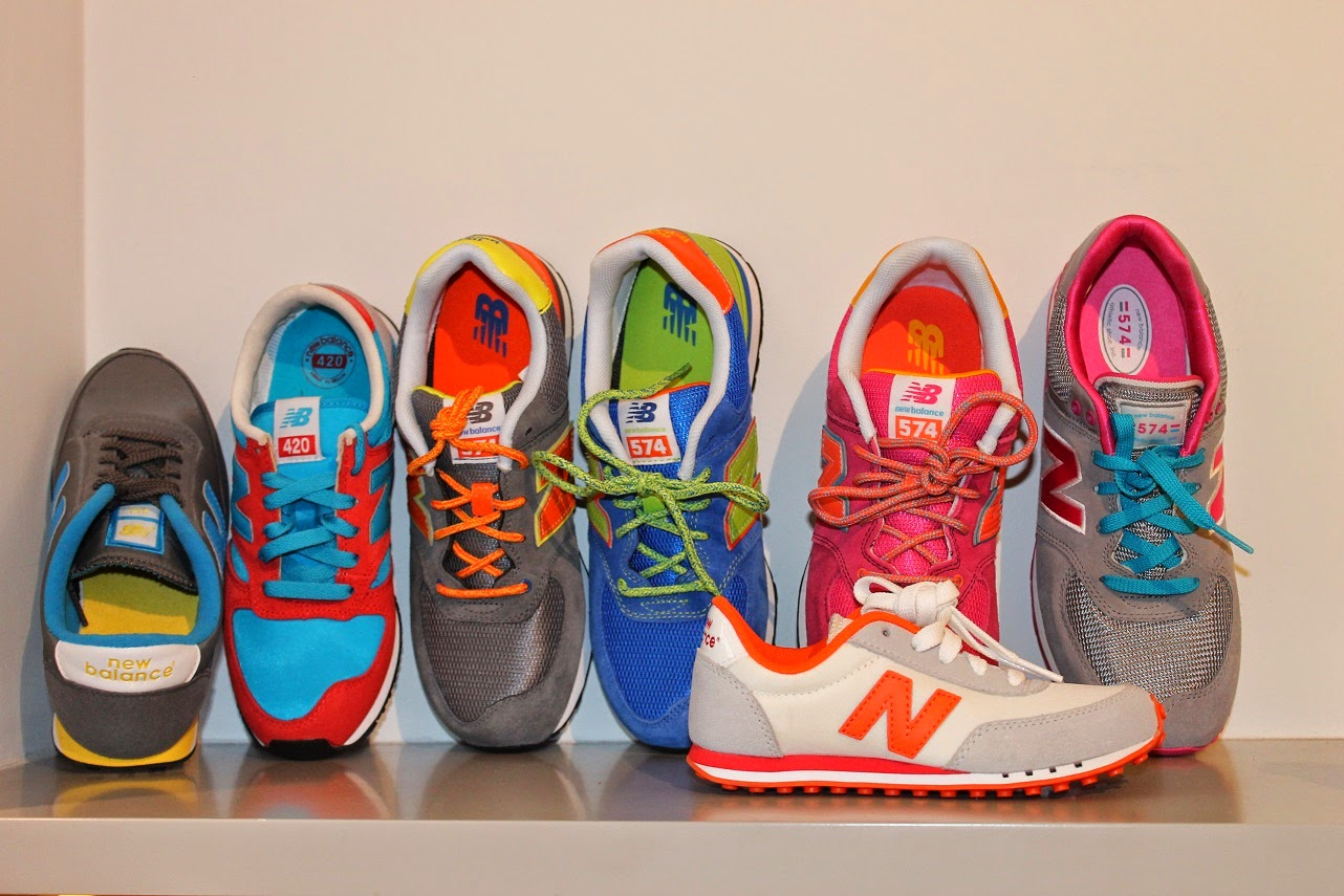 Seraphita, colección Spring Summer 2014, shoes, New Balance