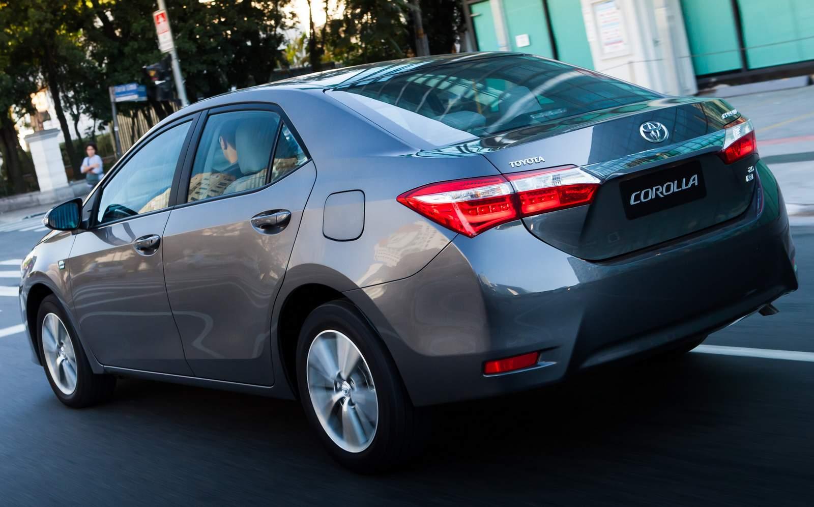 Novo Toyota Corolla 2015 x Honda Civic