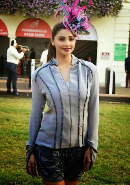 Daisy Shah Stills At Poonawala Race at Mahalaxmi in Mumbai