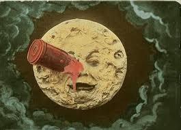 Cartel de Viaje a la Luna