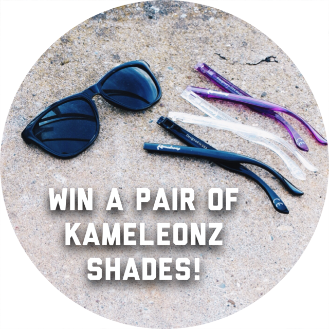 freebie friday, giveaway, freebie, free sunglasses, contest, sweepstakes, kameleonz sunglasses, #lifesabeach