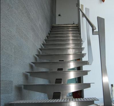 Fotos de escaleras escaleras de metal for Como construir una escalera de metal