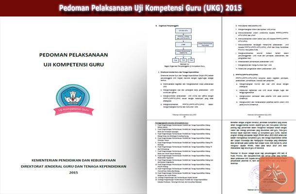 Pedoman Pelaksanaan Uji Kompetensi Guru (UKG) 2015