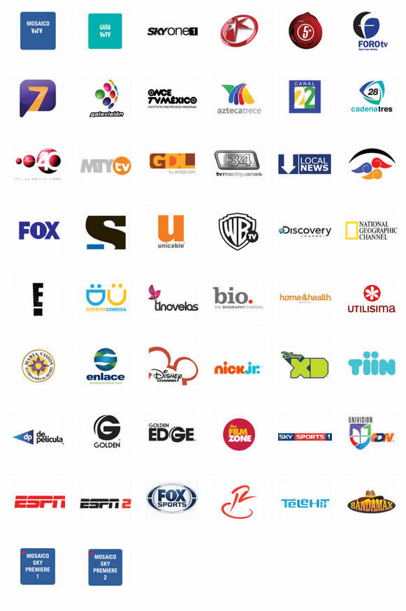 canales internacionales del paquete ve tv por sky