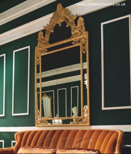 Arquitectura de casas espejos decorativos refinados para - Espejos diseno italiano ...