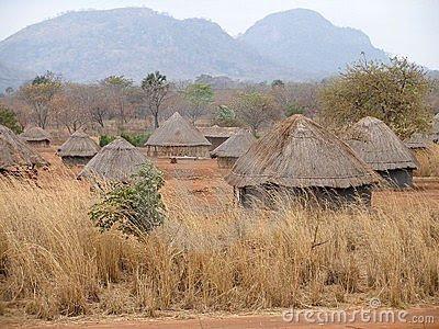 Painted Houses In Kenya