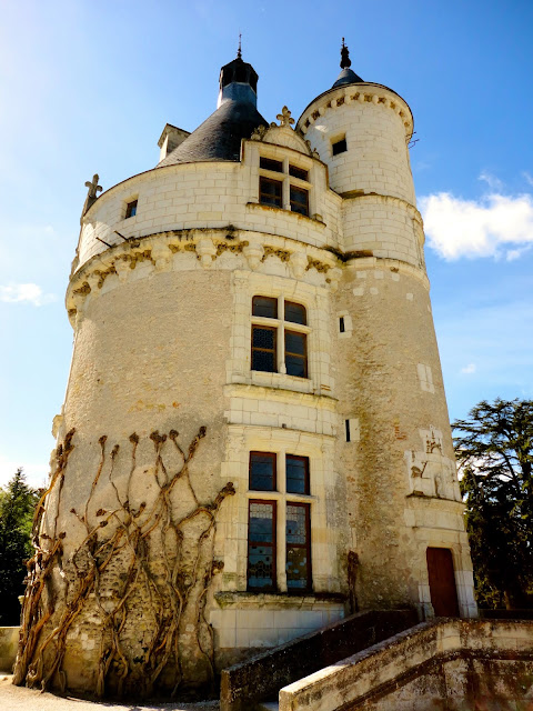 Tower of Chenonceau Château, Loire Valley, France