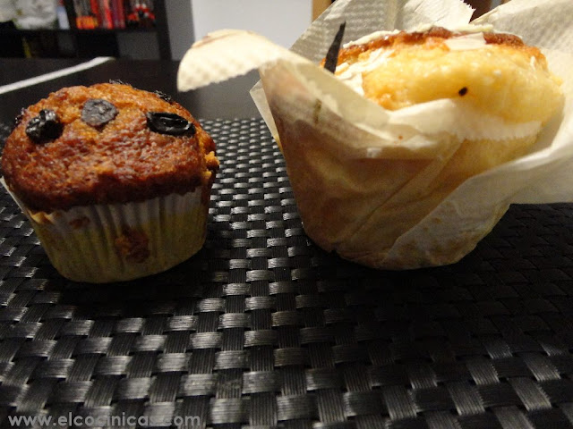 Muffins gigantes I. Molde Texas para muffins grandes