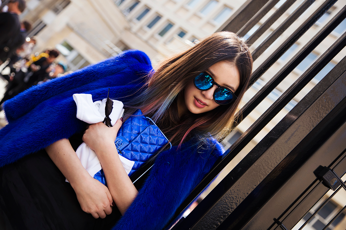 PFW SS15 Street Style by Ylenia Cuellar - Irene Kim