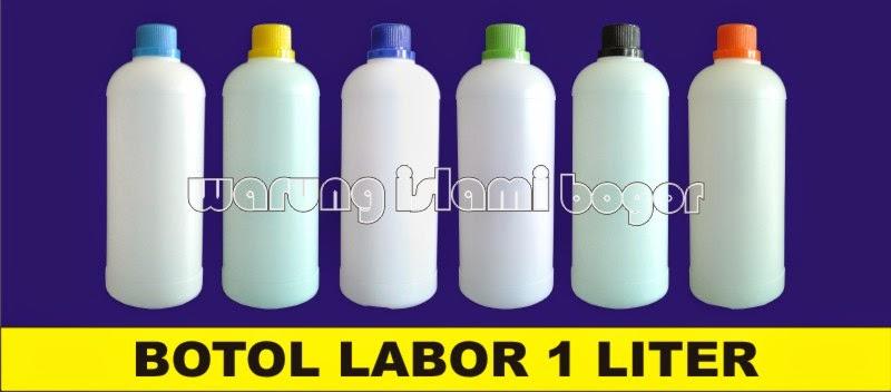 Jual Botol Kemasan HDPE Labor 1 Liter