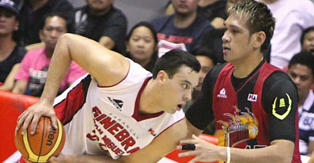 Greg Slaughter (left) - June Mar Fajardo (right)