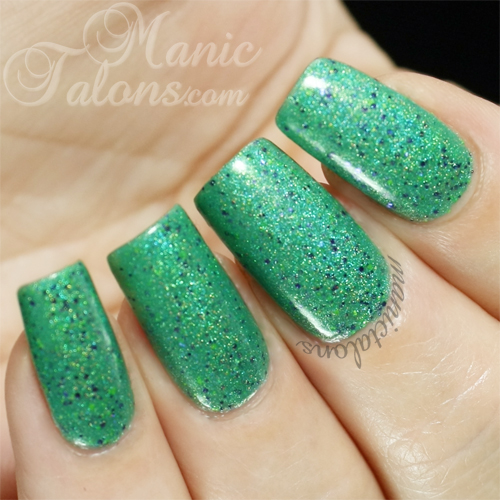 Glam Polish FrankenSlime 2014 Swatch