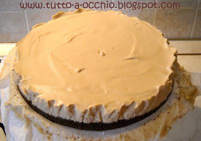 Cheesecake cioccocaffè