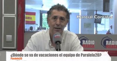 Marcial Corrales, presentador de Paralelo20