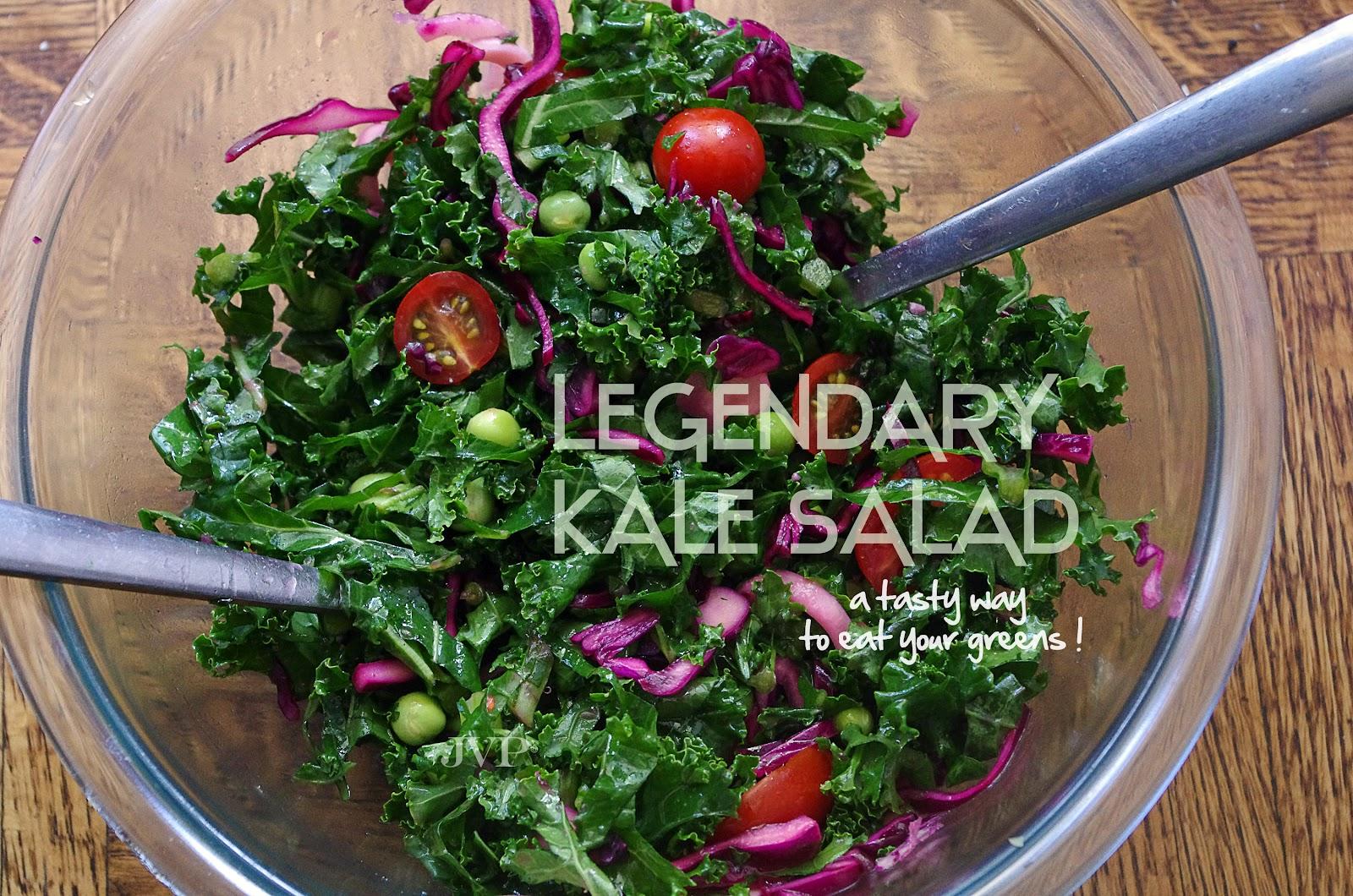 The Tomato Snob: My legendary Kale salad