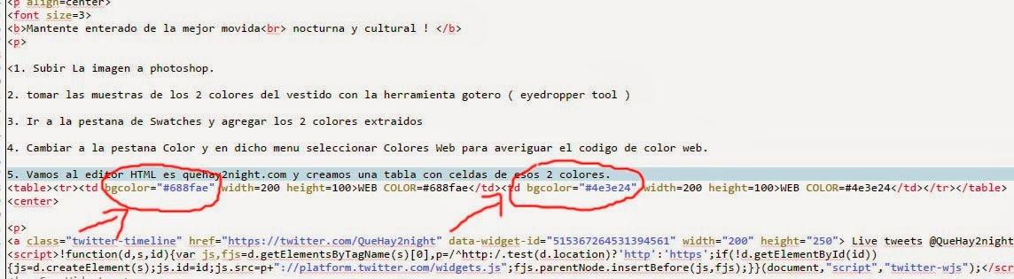 vestido azul negro blanco dorado problema solucion colores web html codigos