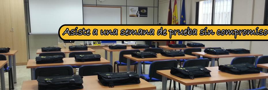 Academia de oposiciones en Murcia.