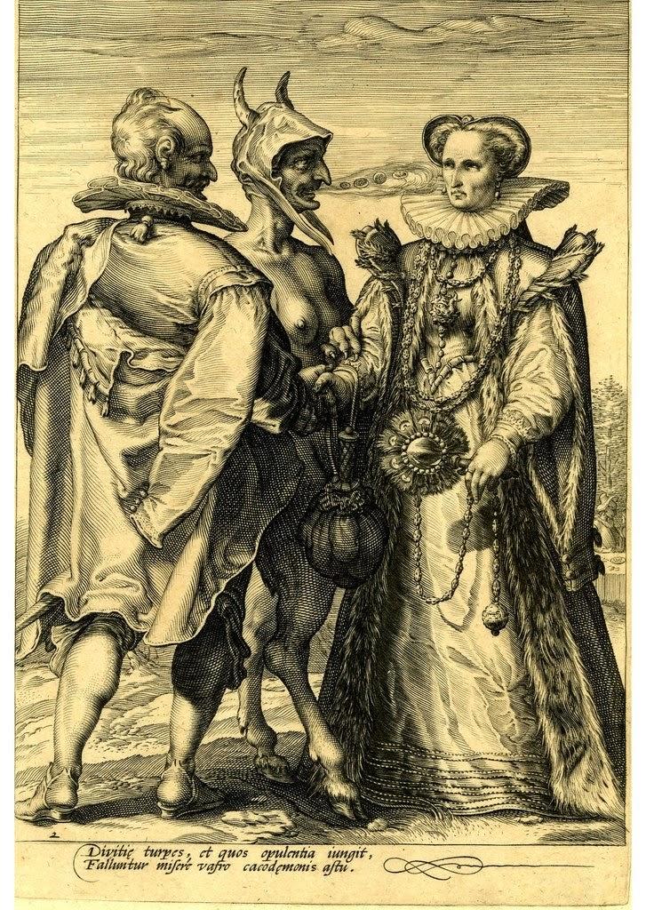 средневековые иллюстрации, средневековые рисунки art, paintings - Jan Pieterszoon Saenredam (1565 - 1607)