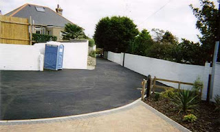 DJ Morford Redruth Cornwall Driveways Block paving Asphalt Tarmac loose chippings concrete
