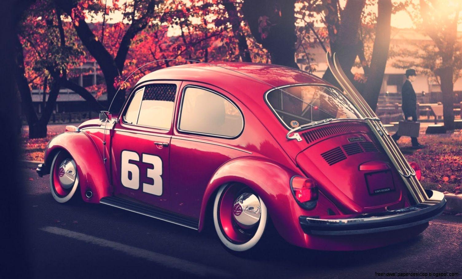 vw volkswagen beetle bug hd wallpaper  high definition wallpapers