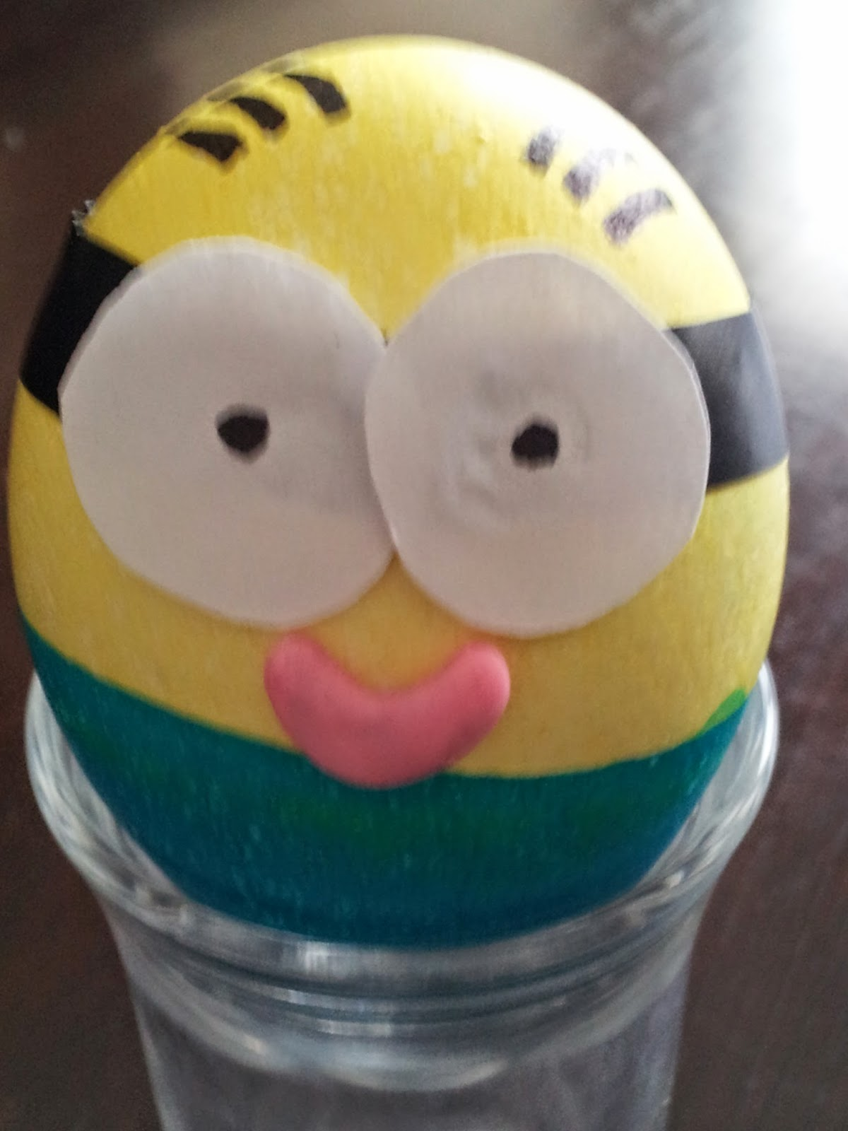 Minion Easter Egg, Despicable Me, colouring eggs