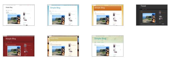 Merubah Template Blog