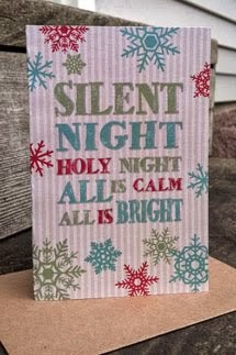 Silent Night Greeting Cards