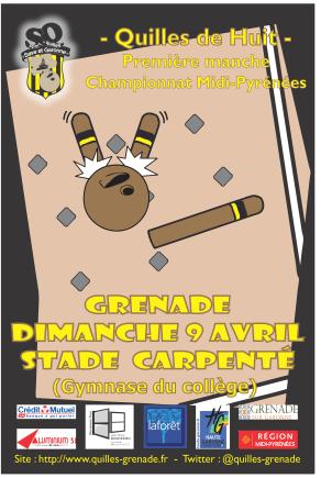 Chpt midi-Pyrénées - Grenade