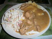 Co zjeśc na obiad, gulasz wieprzowy z cebulą, sos mięsny, co zjeść