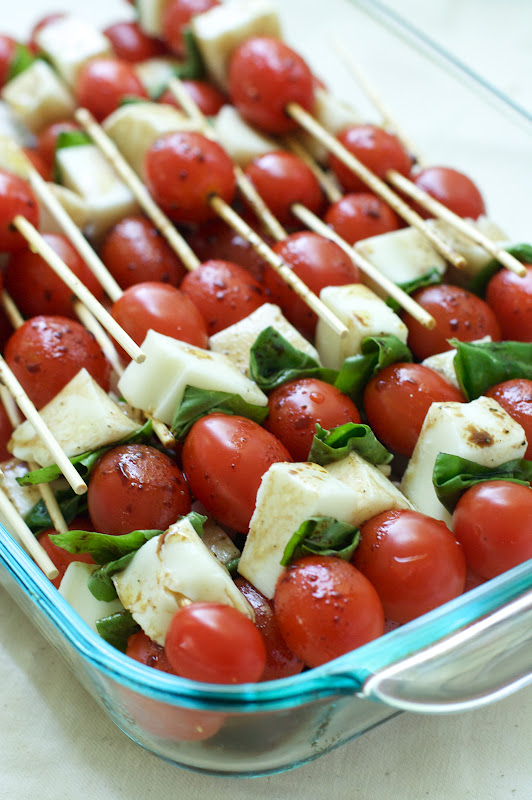 Caprese Salad Skewers : Oven Love