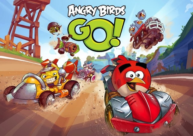 Download new Angry Birds Go for Apple iPhone & iPad_NewVijay