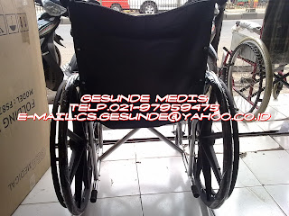 jual kursi roda sella yang bagus baru dan murah