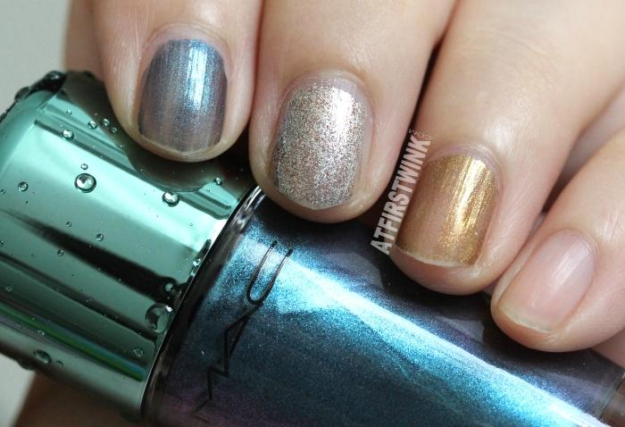 MAC Alluring Aquatic nail lacquers (Summer 2014)