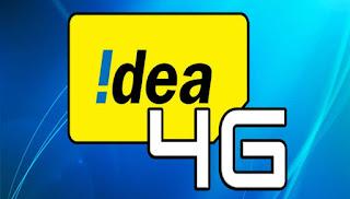 Idea 4G Pre-Book & Get Free 1GB