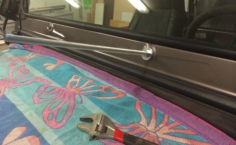 CJ7 Wiper/Windshield Frame Repair - Jeep-CJ Forums