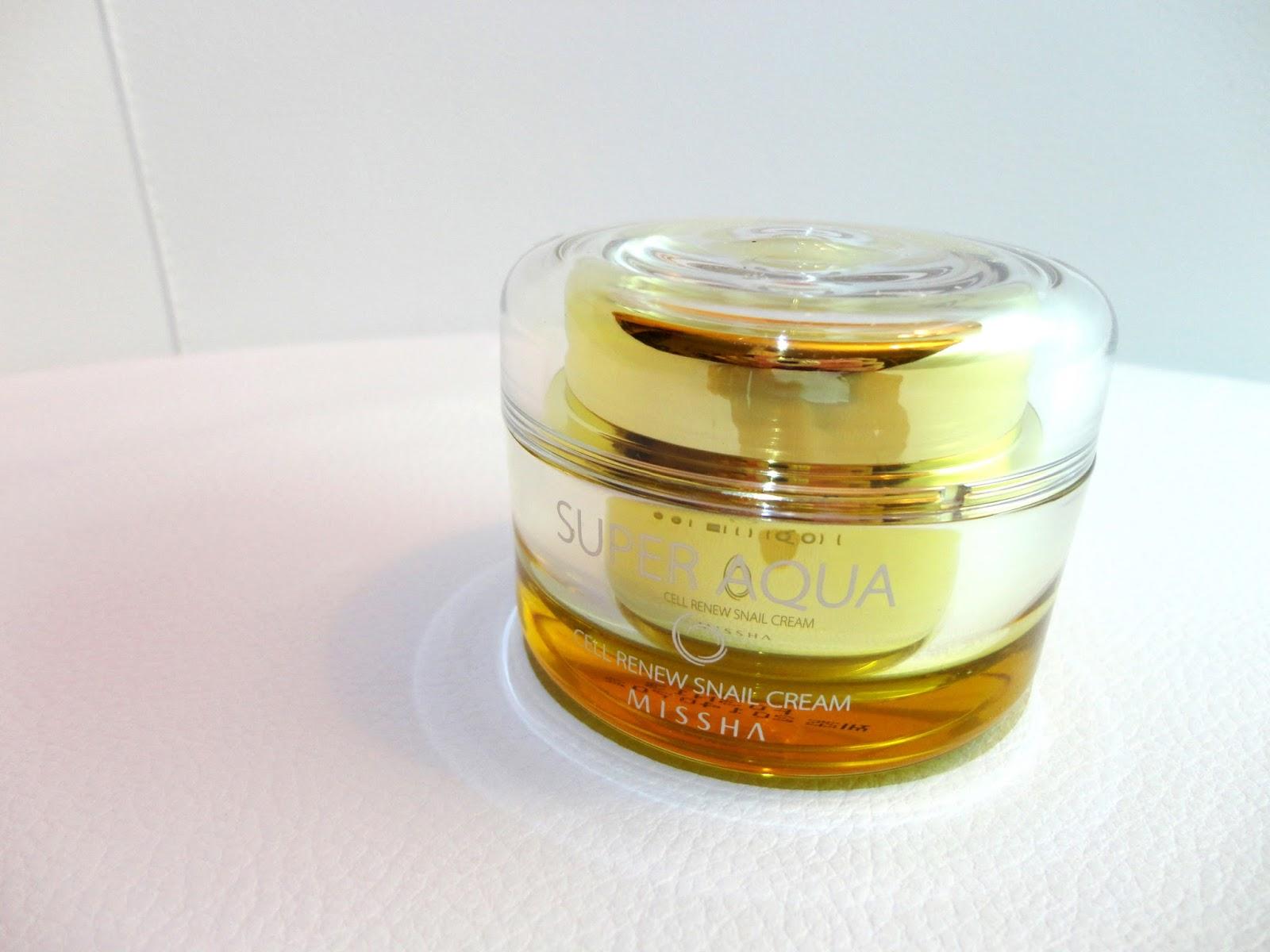 Review: Missha Cell Renew Snail Cream | BEAUTY WOO