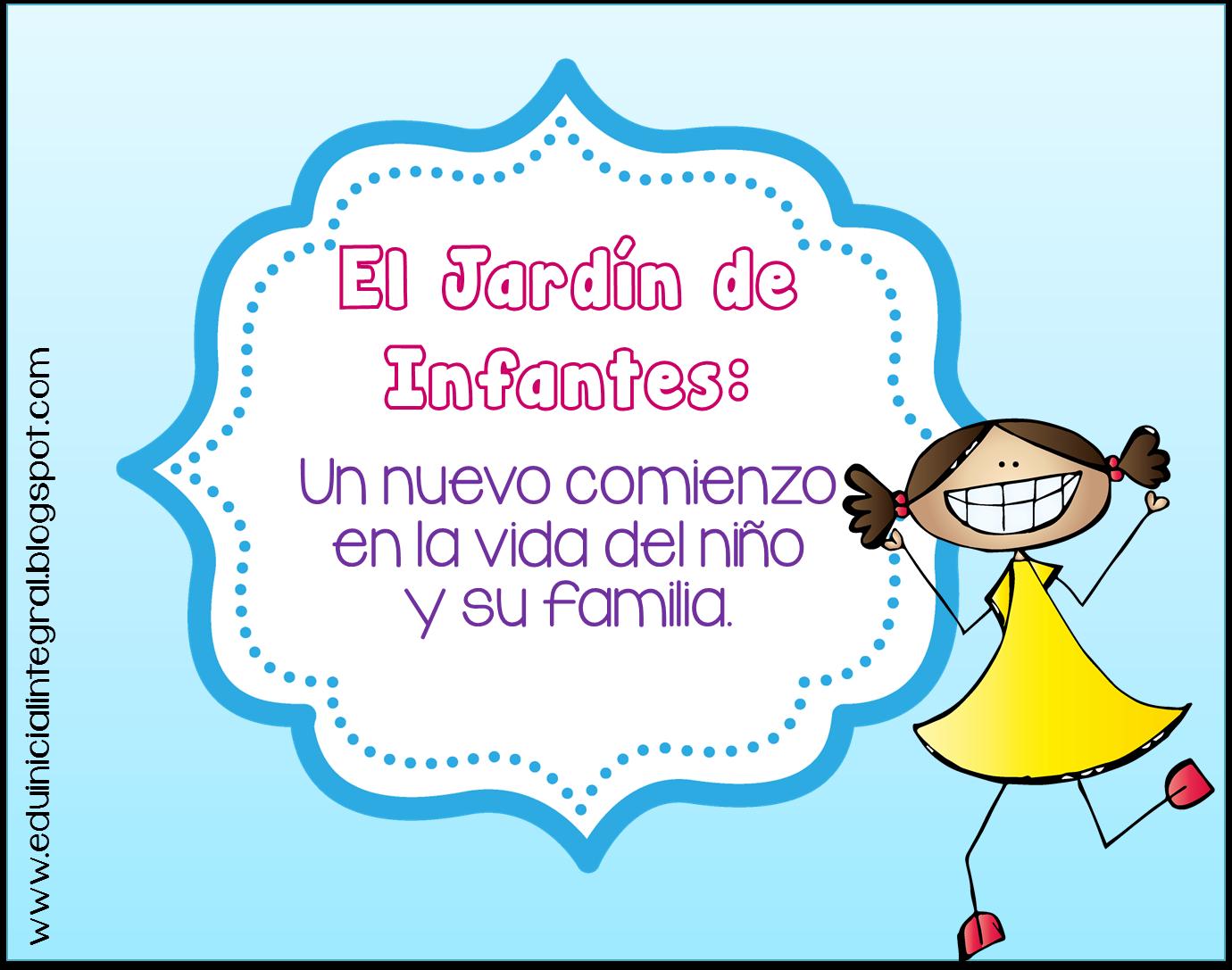 Educaci n inicial para todos el jard n de infantes un for Leccion jardin infantes 2016