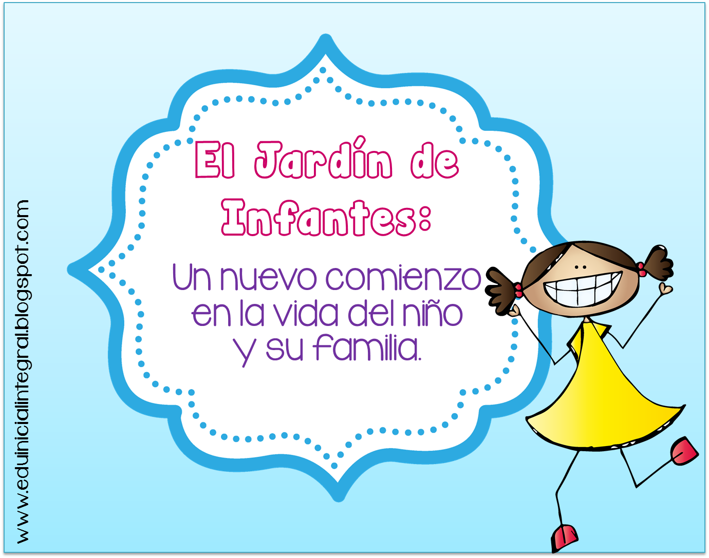 Frases para tarjetas de jardin de infantes for Jardin de infantes
