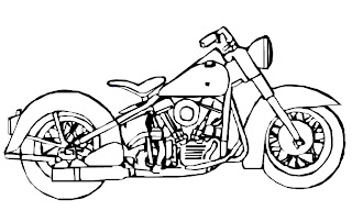 Desenhos Para Colorir motos da honda yamaha e bmw