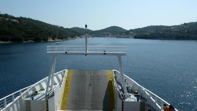 Anfahrt auf Vathi, Meganisi