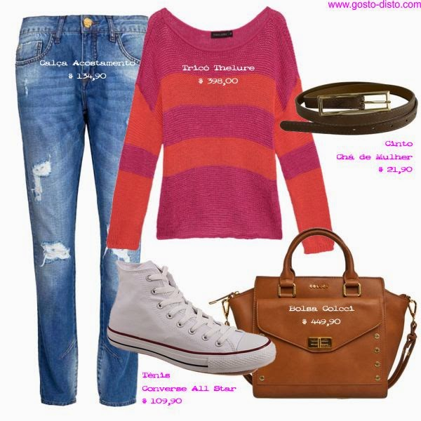 Copie o look rosa