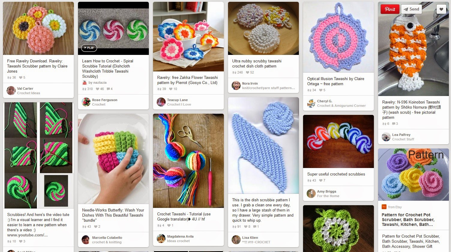 Cute Crochet Chat: Pinterest Board of the Week - Tawashi