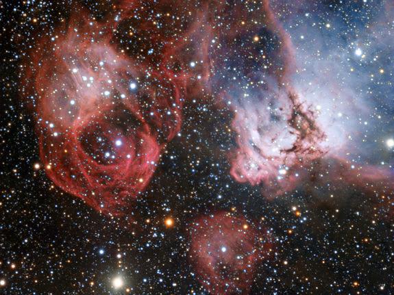 Astrofoto: Drama estelar