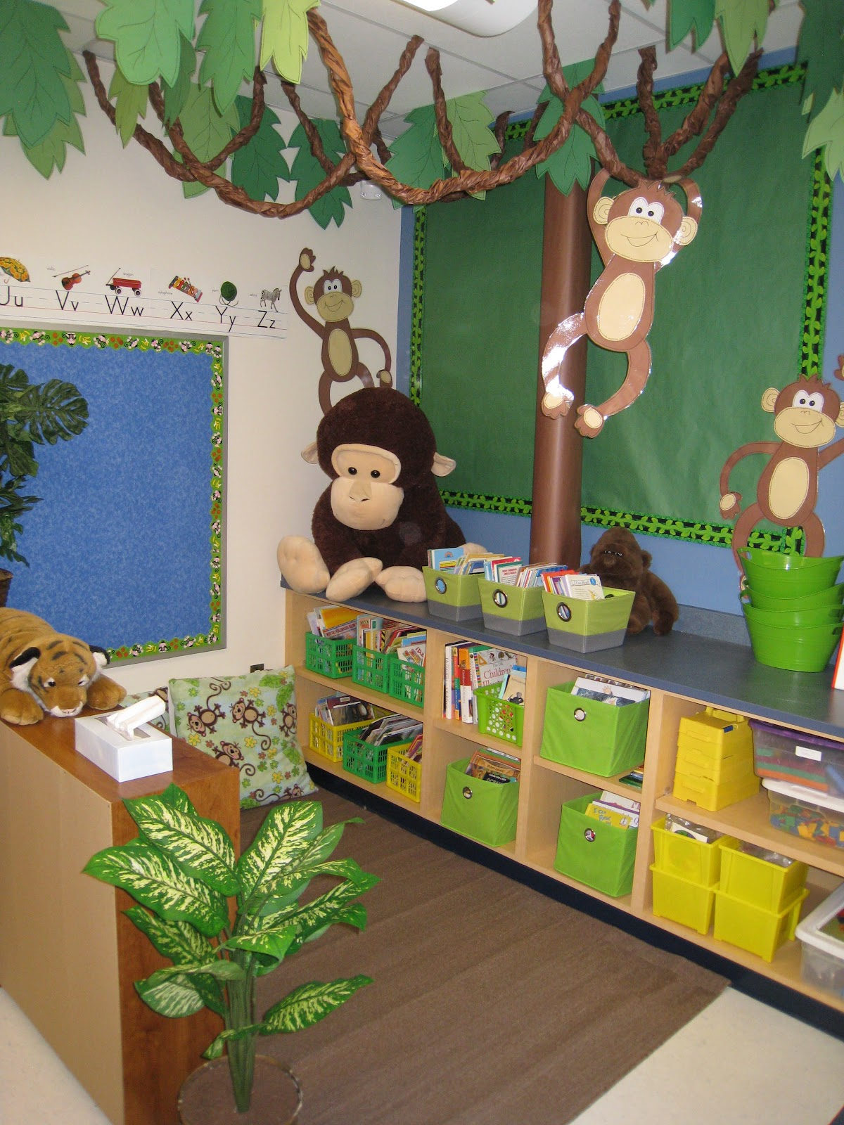 Rainforest Theme Classroom Ideas ~ The creative chalkboard i ve caught zebra fever and m