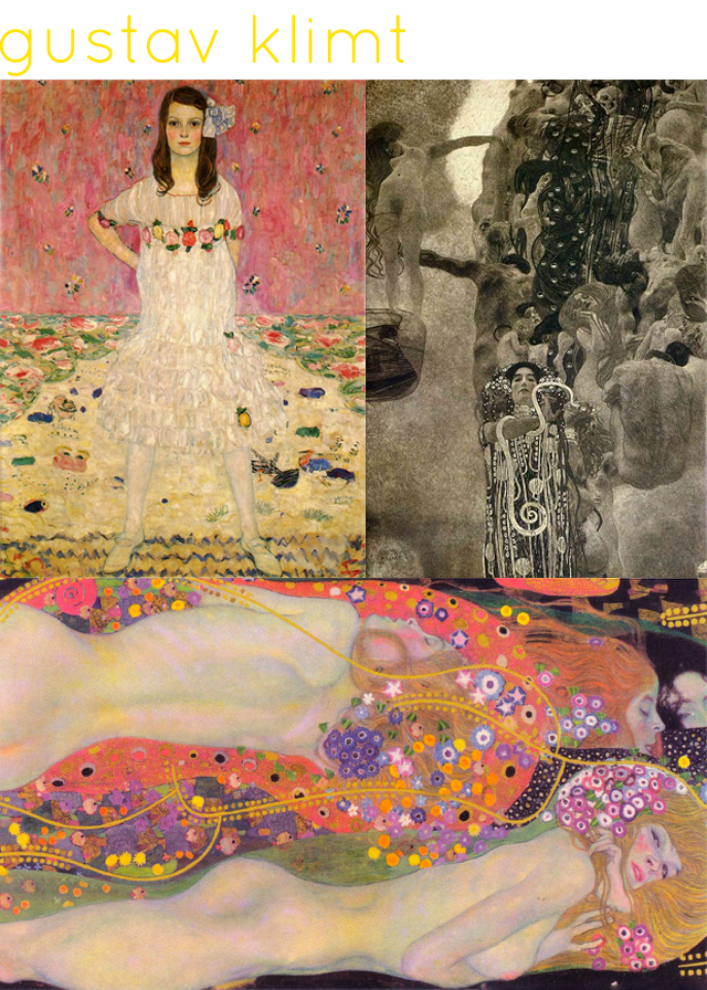 totally crushin on   gustav klimt