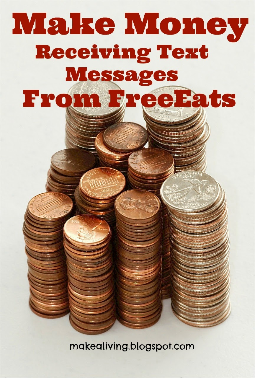 make money receiving text messages from FreeEats