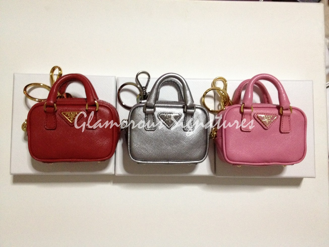 prada handbag charms