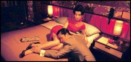 Maggie Cheung y Tony Leung en Deseando amar (Wong Kar-Wai, 2000)